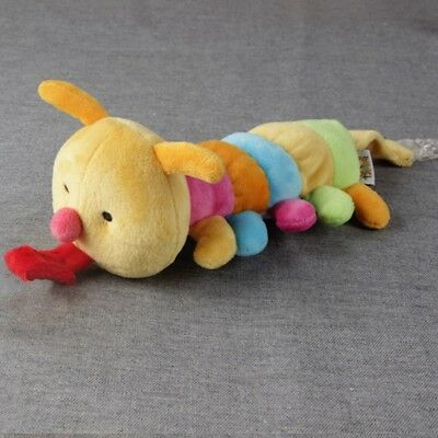 """8.6"""" Soft Animal Plush Toy Baby Infant Soother Nipple Pacifier Chain Clip Holder"""