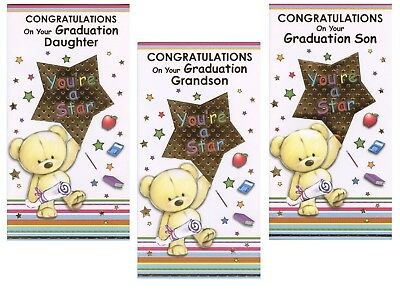 Son Daughter Grandson Congratulations On Your Graduation Cards 1st
