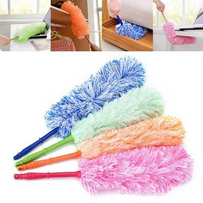 Microfiber Magic Soft Cleaning Duster Dust Removal Cleaner Handle Feather Tools