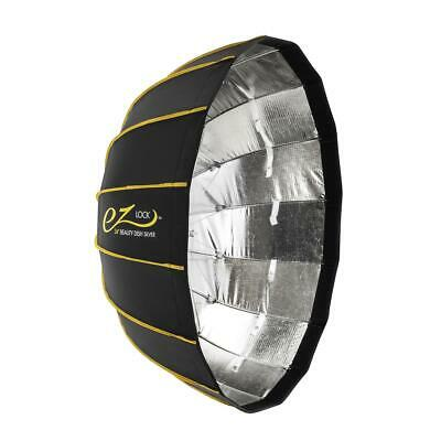 "Glow EZ Lock Collapsible Silver Beauty Dish (34"") #EZ-BD-34S"