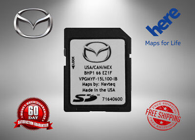 Latest 2017/ 2018/2019 MAZDA Navigation SD Card BHP1 66 EZ1F Mazda 3 6 CX-3 CX-5