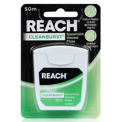 REACH Cleanbrust Dental Floss 50m