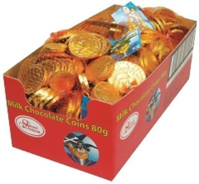 Milk Chocolate Coins 80G - 1 Bag Only