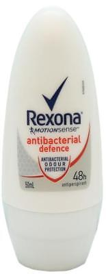 Rexona Roll On Deodorant Antibacterial Defence 50mL