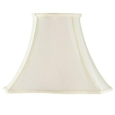 Cream Oval Scallop Fabric Lampshade Table Floor Light Shade 6 Sizes