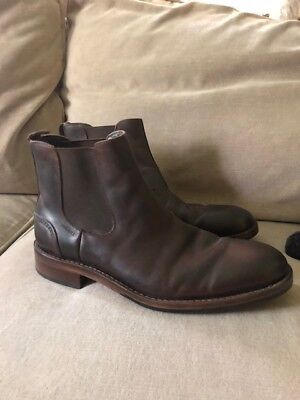 95721f5a170 WOLVERINE MENS CHELSEA BOOTS Montague 1000 Mile Brown W05452 8.5