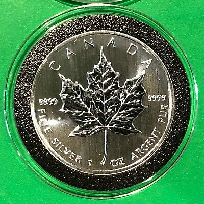 2013 Canada Maple Leaf Collectible Coin 1 Troy Oz .9999 Fine Silver Round Medal