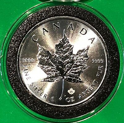 2017 Canada Maple Leaf Collectible Coin 1 Troy Oz .9999 Fine Silver Round Medal