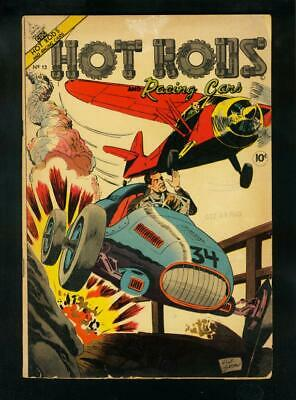HOT RODS AND RACING CARS #13 1954-GIORDANO-SPRINT CARS-very good VG