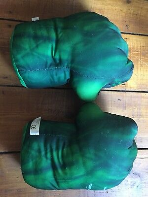 Marvel Incredible Hulk Smash Fists Talking Hands Gloves Cosplay Costume Dress