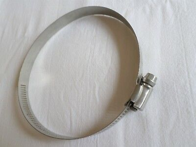 Jubilee Clip Stainless Steel Pipe Clamp Worm Drive Diameter 76-127mm size 72