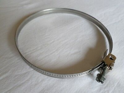 Jubilee Clip Stainless Steel Pipe Clamp Worm Drive 12cm Diameter