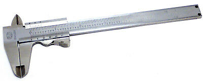 "Mauser T851-22, G-550 Stainless Steel 6"" Vernier Caliper, Working!"