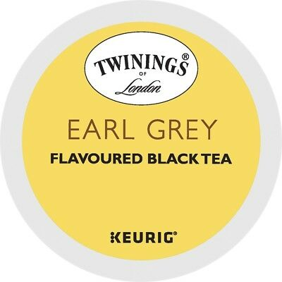 Twinings Earl Grey Tea 24 to 144 Count Keurig K cups Pick Any Size FREE SHIPPING
