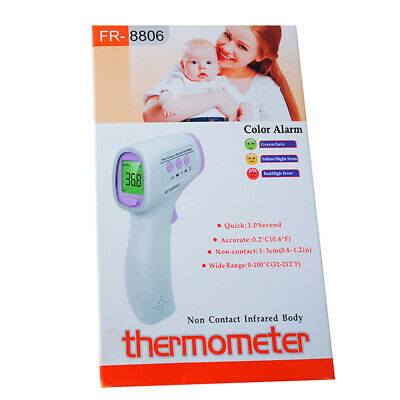Digital Thermometer Gun Non-contact Infrared IR Laser Forehead Body Famliy Care