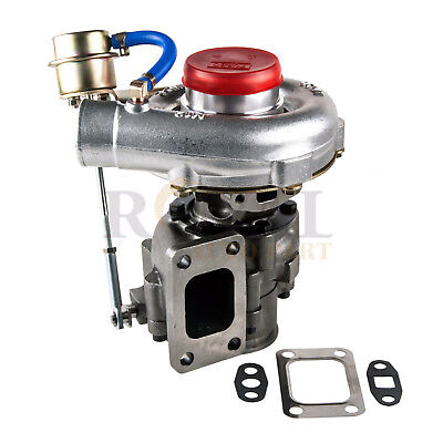 T04E T3/T4 .63 Turbo Turbocharger compressor 300+HP W/Internal Wastegate V-Band