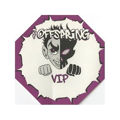 The Offspring authentic 2000 Conspiracy of One Tour satin Backstage Pass VIP