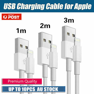 USB Data Charging Cable Lightning for Genuine Apple iPhone 6 7 8 X iPad 1/2/3m