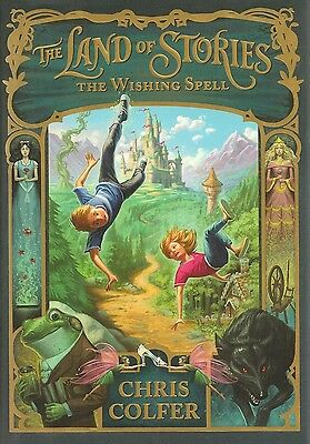 GLEE Chris Colfer The Land of Stories The Wishing Spell AUTOGRAPHED SIGNED