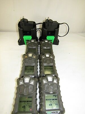 *  x 2 TWO ONLY  MSA Altair 4x Personal Gas Monitors Plus x 2 Chargers. Altair4x