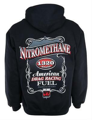 Nitromethane 1320 Brand Pullover Hoodie PD145HS-L