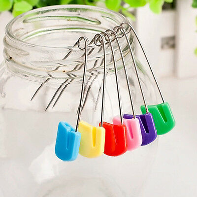 100pcs  Nappy Large Diaper Pins Nappies Safety Pin Baby Diaper Change Fasteners,