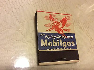 Mobilgas Special Match Book  Rare  New