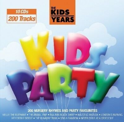 C.r.s.players - Kids Years-Kids Party 10 Cd New+