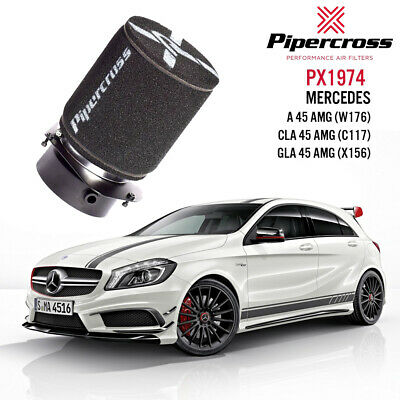 "Pipercross Performance Upgrade Intake System 4"" Mercedes A45 CLA45 GLA45 AMG"