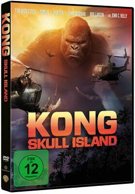 Kong: Skull Island (DVD) Min: 118DD5.1WS - Warner 1000638868 - (DVD Video / Aben
