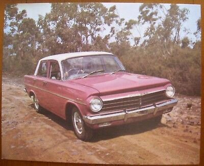 EH HOLDEN  1963  PICTURE  CARD  No 8  RARE   WHITE WINGS,