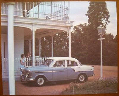 FC SPECIAL SEDAN 1958  PICTURE CARD No 4  RARE .WHITE WINGS,
