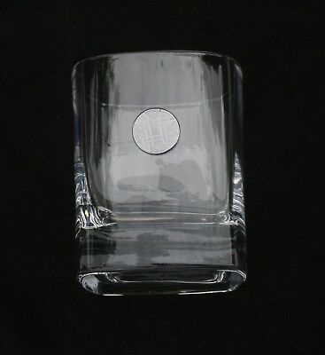 Celtic Knot Pair of Crystal Tumblers Pewter Motif Presentation Box Gift