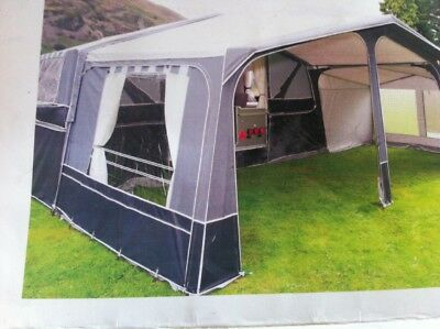 pennine countryman platinum folding camper 2010 with motor mover