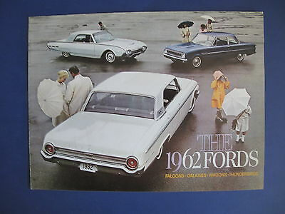 1962 Ford Full Line Sales Brochure C5723