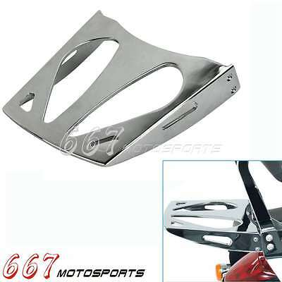 Chrome Motorcycle Rear Luggage Rack Carrier Holder For Suzuki M109R 2006-2016