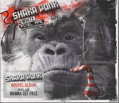 SHAKA PONK. THE WHITE PIXEL APE. BRAND NEW CD ALBUM. Wanna Get Free. UK Stock
