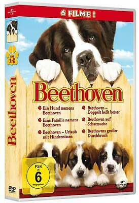 Beethoven Vol 1 - 6 - Universal 8286538 - (DVD Video / Komödie)