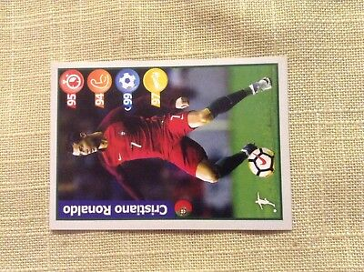 Kelloggs Football Superstar Sticker - RONALDO