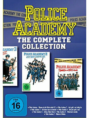 Police Academy - The Complete Collection - Warner 1000446180 - (DVD Video / Acti