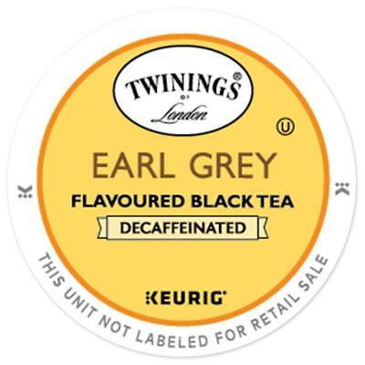 Twinings DECAF Earl Grey Tea 24 to 144 Count Keurig Kcup Pick Any Size FREE SHIP