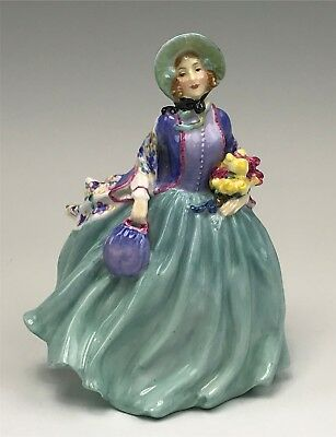 Vintage Royal Doulton Pretty Lady Figurine, Honey HN 1910