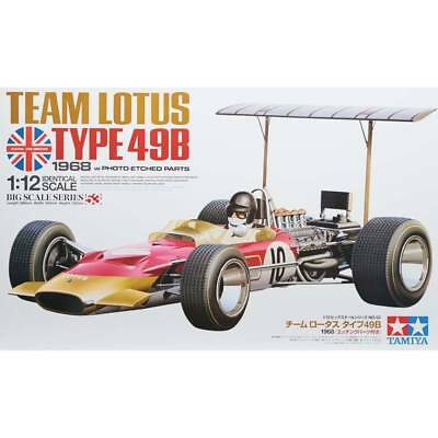 NEW Tamiya 1/12 Team Lotus Type 49B 1968 w/Photo Etched Prt 12053