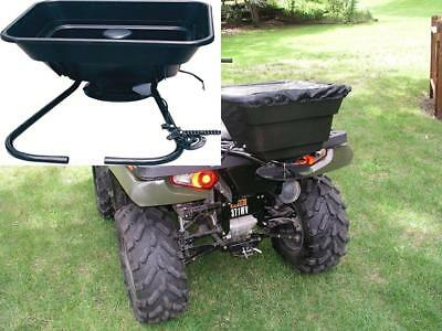 Field Tuff AS-12V 12-volt ATV Broad Cast Spreader, 80-Pound