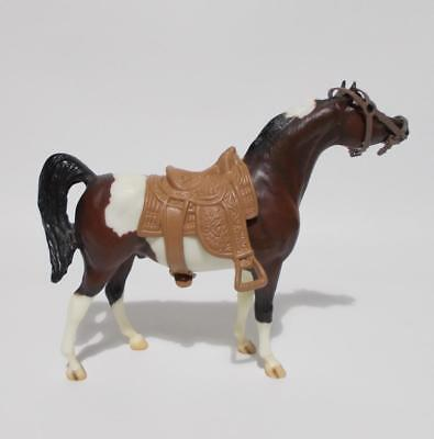 "Breyer Molding Co Horse Brown White With Saddle 6"" Tall"