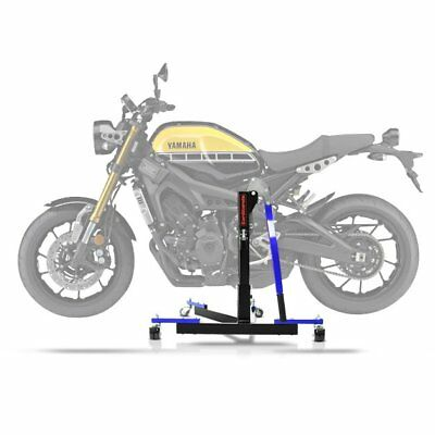 Center Spider Lift ConStands Power Evo Yamaha XSR 900 16-18 blue Centre