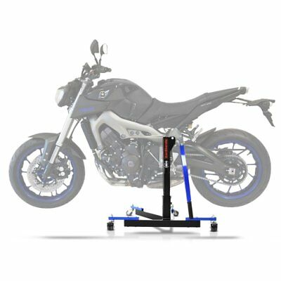 Center Spider Lift ConStands Power Evo Yamaha MT-09 13-18 blue Centre