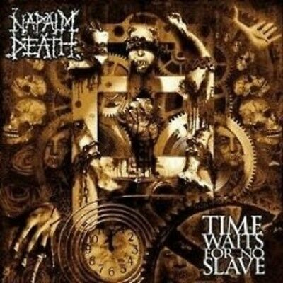 """Napalm Death """"Time Waits For No Slave"""" Cd New+"""