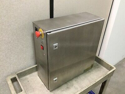 Rittal AE1007 Electrical Enclosure, Stainless Steel, 500mm x 500mm x 210mm