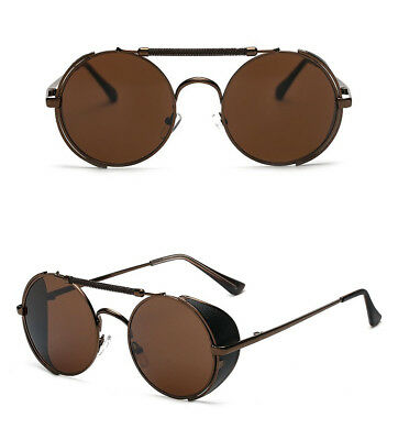 Sarah Connor Sunglasses Terminator 2 Movie Costume Glasses Brown Round Side Gift
